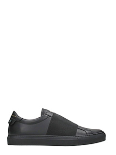 Givenchy-Sneakers Elastic Skate in pelle nera