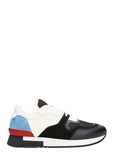 Givenchy-Sneakers Runner Active in pelle nera
