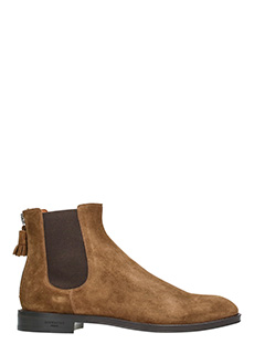 Givenchy-Chelsea suede boots