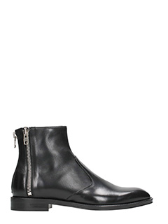 Givenchy-Zip black ankle boots
