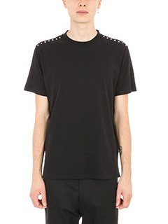 Valentino-Studs black Jersey t-shirt