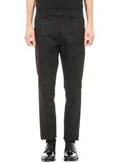 Valentino-Untitled Chinos black cotton pants