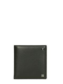 Valentino-Rockstud Billfold wallet