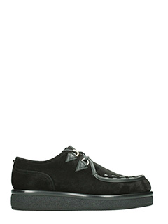 Valentino-Creepers in suede nero