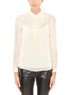 Red Valentino-Ivory silk shirt