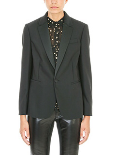 Red Valentino-Blazer in lana nera