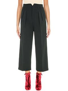 Red Valentino-High Waistes Belt Pant