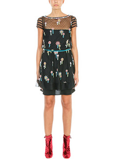 Red Valentino-Lace black Dress