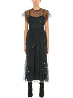 Red Valentino-bito Soft Point Despirit in tulle nero