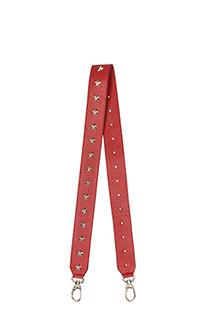 Red Valentino-star stud strap
