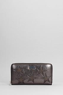 Stella McCartney-Star patch Zipped Wallet
