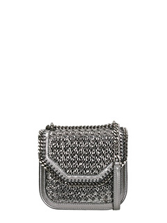Stella McCartney-wicker Falabella Box mini shoulder bag