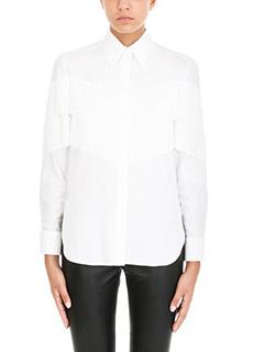 Stella McCartney-Camicia Alina in cotone organico bianco