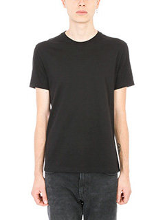 Stella McCartney-Black cotton t-shirt