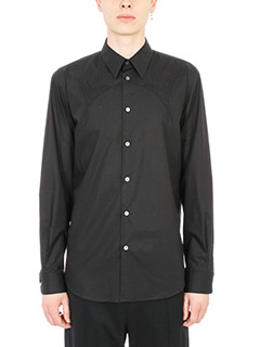 Stella McCartney-Camicia in cotone nero