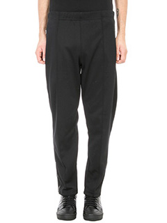 Stella McCartney-Track trousers in black cotton