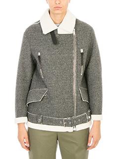 Golden Goose Deluxe Brand-Aviator wool jacket