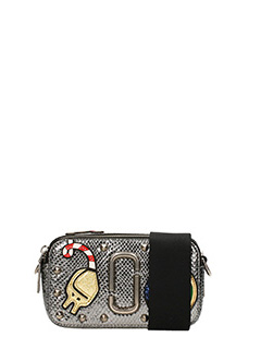 Marc Jacobs-Borsa Night and Day Camera bag in pelle argento