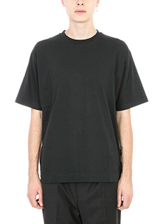 Golden Goose Deluxe Brand-T-shirt Edward in cotone nero