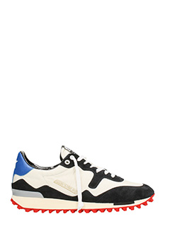 Golden Goose Deluxe Brand-Starland white cotton sneakers