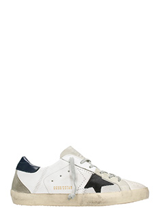 Golden Goose Deluxe Brand-Sneakers Superstar in pelle trilogy