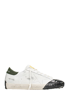 Golden Goose Deluxe Brand-Sneakers Superstar in pelle bianca