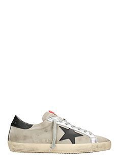 Golden Goose Deluxe Brand-Sneakers Superstar in pelle sabbia rossa