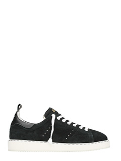 Golden Goose Deluxe Brand-black suede Starter sneakers