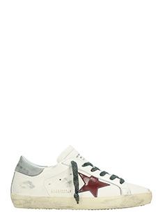 Golden Goose Deluxe Brand-Sneakers Superstar in pelle crema viola