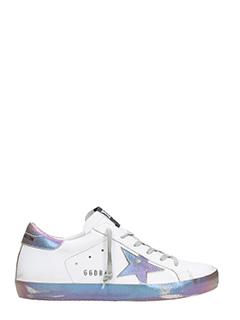 Golden Goose Deluxe Brand-Sneakers Superstar in pelle bianca