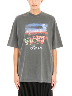 Balenciaga-Grey Paris T-shirt