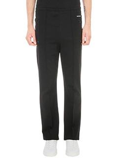 Balenciaga-Black jersey trouser