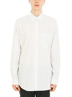 Balenciaga-HTTP white cotton shirt