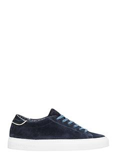 Philippe Model-Sneakers Avenir in camoscio blu