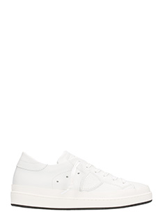 Philippe Model-Sneakers Opera in Pelle bianca