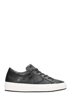 Philippe Model-Sneakers Opera in pelle nera