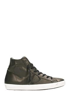 Philippe Model-Sneakers hi-top Paris in belle bronzo