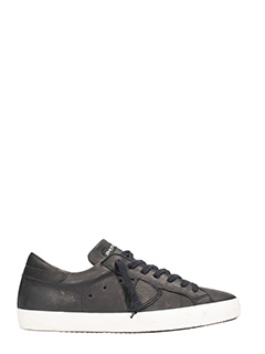 Philippe Model-Sneakers Paris in pelle nera