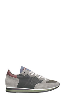 Philippe Model-Tropez grey Trainers