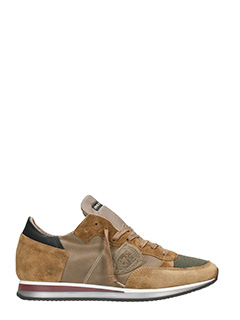 Philippe Model-Tropez brown Trainers