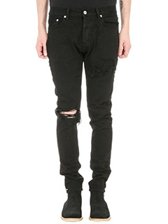 Mr.Completely-Jeans Emirate Black vintage in denim nero