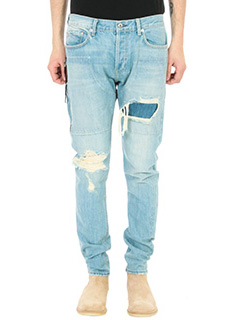 Mr.Completely-Jeans Emirate 10 Year Selvedge in denim blu