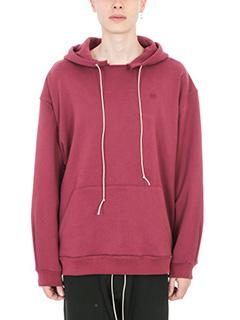 Mr.Completely-bordeaux cotton sweatshirt