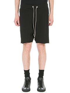 Mr.Completely-Shorts Zipper in cotone nero