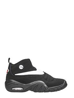 Nike-Sneakers Air Shake NDestrukt in camoscio nero