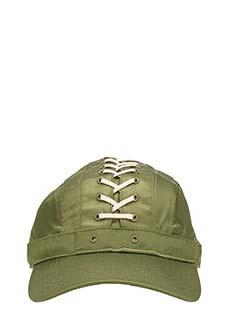 Puma Fenty-Cappello Lace Up Cap in raso verde
