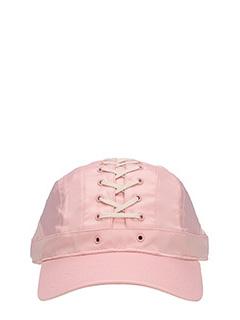 Puma Fenty-Cappello Lace Up Cap in raso rosa