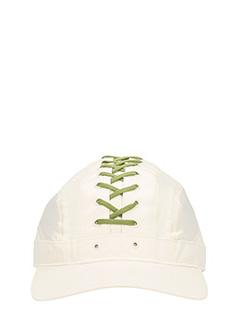 Puma Fenty-Cappello Lace Up Cap in raso  bianco