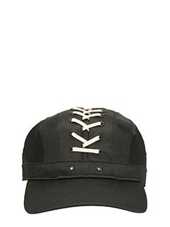 Puma Fenty-Cappello Lace Up Cap in raso nero