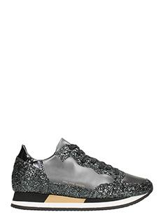 Philippe Model-Paradis Glitter Sneakers